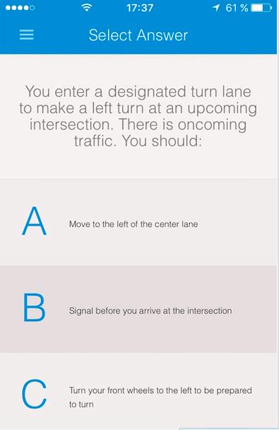 Drivers test study