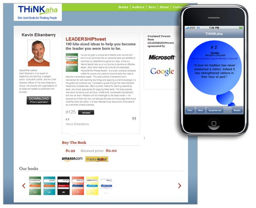 iPhone ebook application